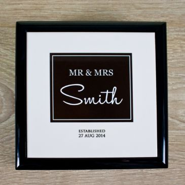 Mr & Mrs Couple Keepsake Box
